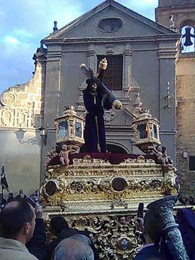 Jesús Nazareno de Osuna, el Viernes Santo. Foto: Rosario Palomo.