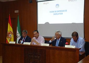 Presentación del vivero de empresas en Badolatosa