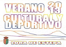 Verano cultural en Lora, cartel