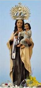 Virgen del Carmen de la aldea de Los Pérez