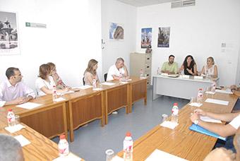 Un momento de la charla de Silvia Heredia con empresarios