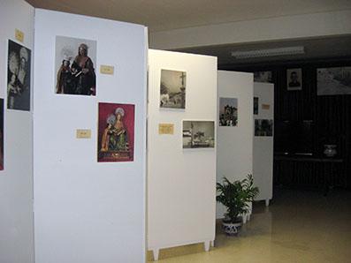 Exposición sobre Santa Ana junto a la ermita
