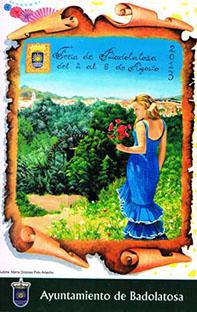 Cartel de la Feria de Badolatosa 2013