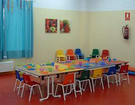 Imagen del interior de la guardería de Villanueva