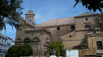 Vista general de la Iglesia de Santo Domingo en la actualidad