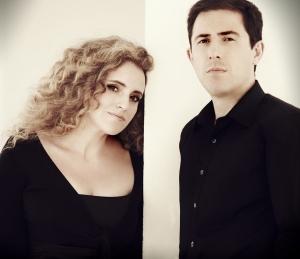 Raquel Andueza y Jesús Fernández Baena