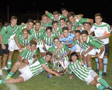 El Real Betis juvenil, ganador del Trofeo del Mantecado
