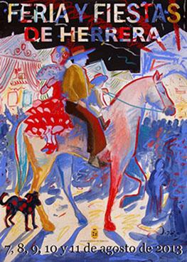 Cartel de Feria de Herrera 2013