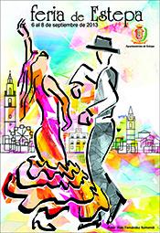 Cartel de la Feria de Estepa 2013