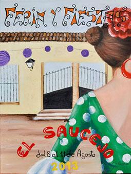 Cartel de la Feria de El Saucejo 2013