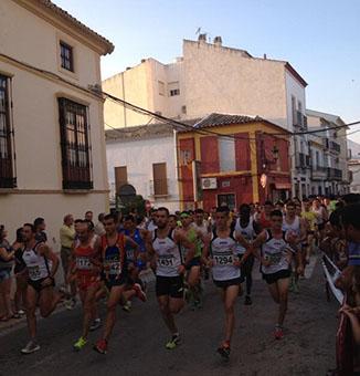 Un momento de la carrera senior en la competición popular Miguel Ríos