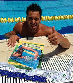El nadador de Pedrera Paco Nogales
