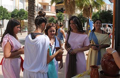 Acto promocional del Festival Romano de Casariche en Puente Genil