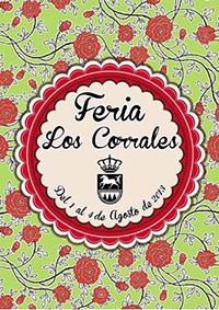 Cartel de la Feria de Los Corrales 2013