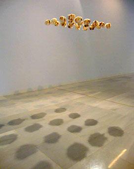Instalación realizada por Laura Segura