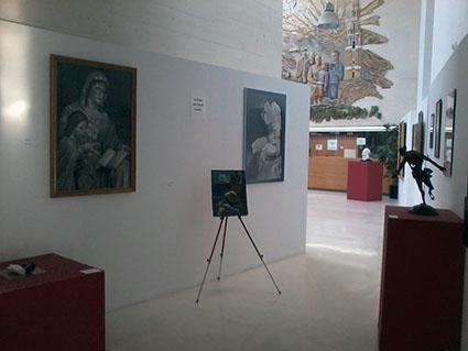 Vista del inicio de la exposición