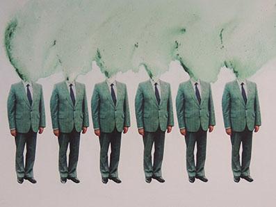 """Obra """"When we think about"""" (Cuando nosotros pensamos acerca de...), de Merche Chía"""