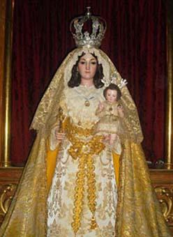 La Virgen de los Llanos, patrona de La Roda