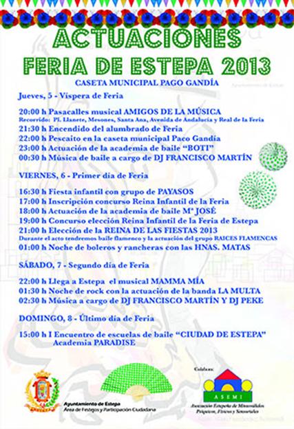Actividades Feria Estepa