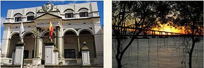 Dos fotos de Rosana Borroni sobre Corrientes