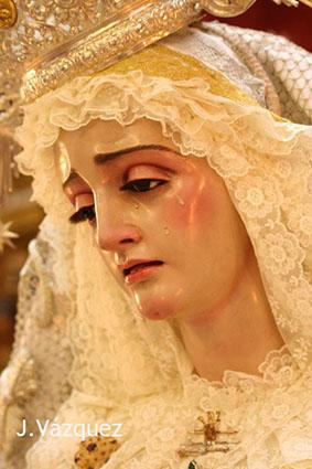 Virgen de la Paz de Estepa. Foto: J. Vázquez.