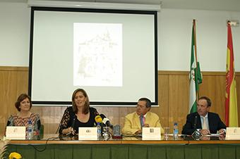 Mesa presidencial de la apertura oficial del curso escolar en Osuna