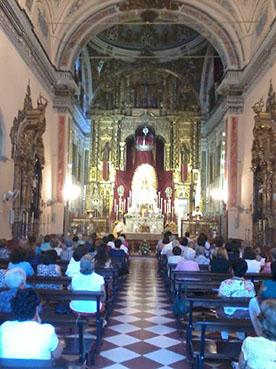 Novena en honor a la Virgen de Consolación de Osuna. Foto: R.C.