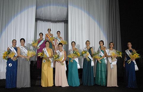 Candidatas a Reina de Feria de Estepa 2013