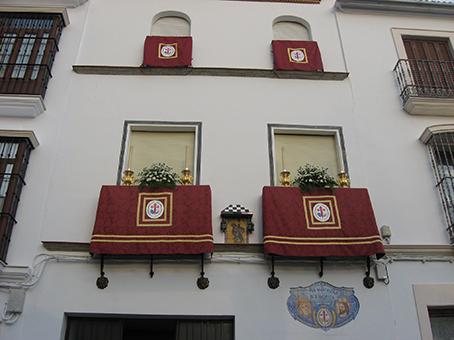 Casa hermandad de la Hermandad de la Borriquita de Estepa