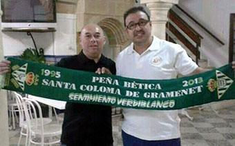 López Lebrón y Galván Puerta, durante la visita