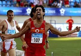El atleta de Osuna, Antonio Reina