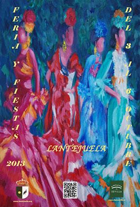 Cartel de Feria de Lantejuela 2013