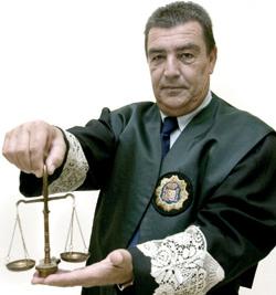 El famoso juez de Menores de Granada, Emilio Calatayud