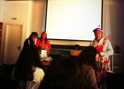 Imagen del primer día de clase, hoy, del curso. Foto: @CulturaEStepa
