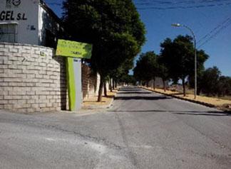Imagen del polígono industrial de Gilena