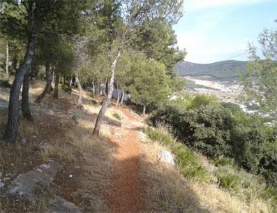 Imagen de la Sierra de Gilena por la que discurrirá el trofeo