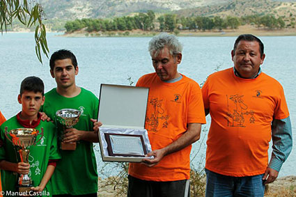 Imagen del homenaje a Paco Castilla. Foto: Manuel Castilla Hernández.