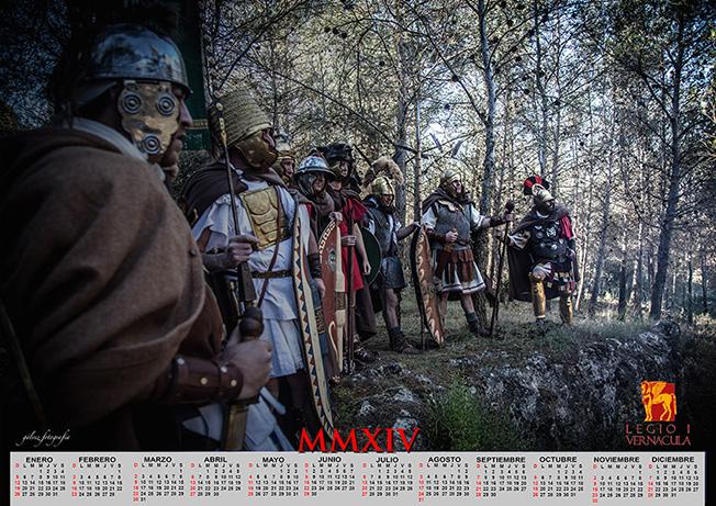 Calendario 2014 Legio Vernácula