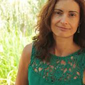 La poetisa Ana Isabel Alvea