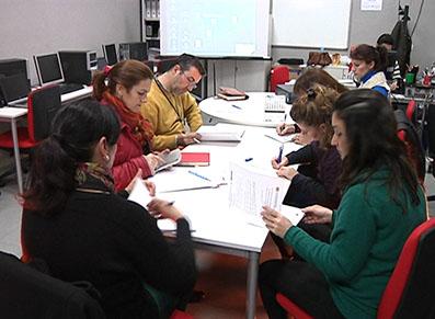 Imagen de la última reunión de elaboración del Plan Educación Ciudad