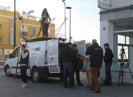 La televisión local se prepara para la retransmisión