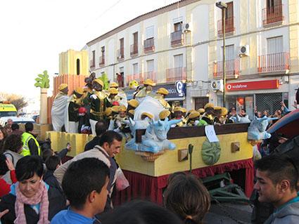 El Rey Baltasar en su carroza
