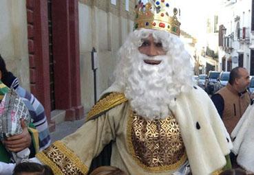 El Rey Melchor de Osuna, en la calle Sevilla