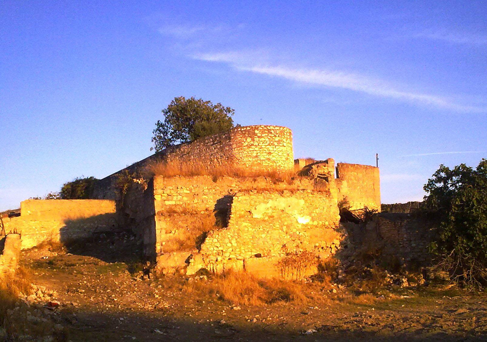 La Casería, antes de iniciarse los trabajos de restauración