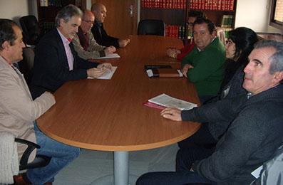 Imagen de la reunión mantenida en Sevilla el pasado miércoles