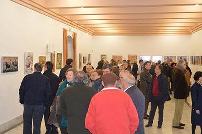 Público asistente a la inauguración de las jornadas taurinas