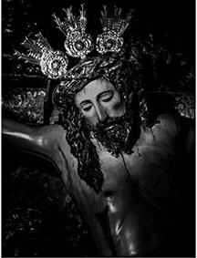 El Cristo de la Pax, titular de esta hermandad ursaonense.