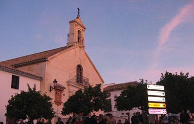 Iglesia de los Remedios de Estepa, uno de los templos de la ruta. Foto: R. Camero.