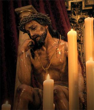 Santo Cristo de las Penas de la Hermandad de San Pedro. Foto: web de la cofradía.