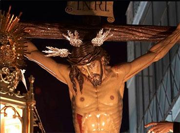 Cristo de la Salud de Estepa. Foto: Web oficial de la hermandad.
